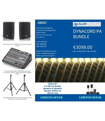 DYNACORD PA BUNDLE
